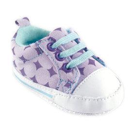 Luvable Friends 嬰兒止滑學步鞋 /  鞋子 /  休閒鞋 /  嬰兒鞋 - 水藍薰衣草方塊 11326