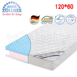 德國 Julius Zoellner Dr.Lubbe Air Comfort 嬰兒床墊120x60cm -送 澳洲NVEY嬰兒沐浴乳250ml