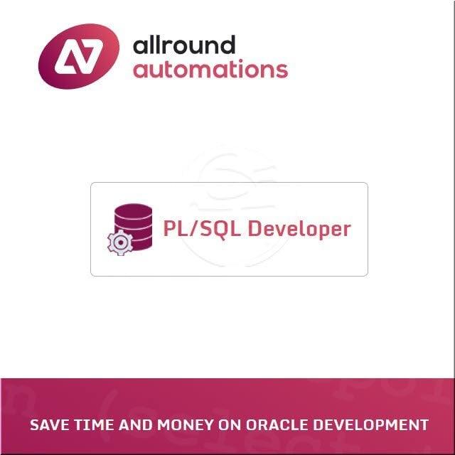 PL/ SQL Developer 5 User License pack含一年MA(ESD) - IDE for Oracle Database!