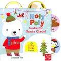Tiny Tabs:Roly Poly Looks For Santa Claus! 尋找聖誕老公公 硬頁拉拉書(英國版)
