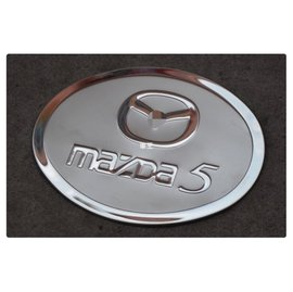 ~車王小舖~馬自達 Mazda 5 Mazda5 馬5 馬自達5 油箱裝飾蓋 不鏽鋼油箱蓋 油箱蓋貼