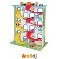 Malldj親子購物網 - Mentari  立體迴旋賽車滑梯 #PB13408090906500