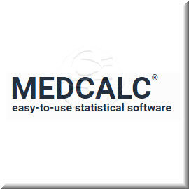 MedCalc - single user lifetime license 永久授權下載版 - a developer of medical and statistical software solut...