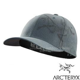 ~加拿大 ARC TERYX 始祖鳥~Bird Stitch Cap LOGO棒球帽.休閒帽.遮陽帽.鴨舌帽.防晒帽 棉質吸汗透氣.彈性頭圍 14811 傑納斯