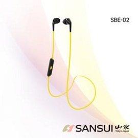 【山水 SANSUI】運動型藍牙防汗高音質無線耳機(SBE02)