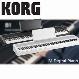 【非凡樂器】KORG B1 Digital Piano 88鍵電鋼琴 白色 /  單琴 /  贈耳機、保養組 公司貨保固