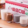 【李記豆奶】綜合口味(豆奶x6+黑芝麻x6+米漿x6+杏仁奶x6/箱)