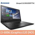 Lenovo 聯想 IdeaPad 110-15ISK 15.6吋/i3-6006U/500G/DOS/筆電(80UD00P7TW )