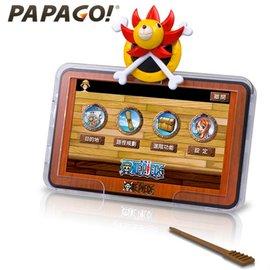 【PAPAGO】ONE PIECE 航海王五吋導航機- 版 贈 防空汙口罩 海賊王 魯夫
