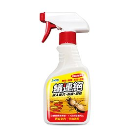 『蟑螂坦克』蟻連絕 500ml 噴槍瓶 防治白蟻液劑 白蟻專用 白蟻藥 全巢攻滅 殺蟲/ 防蛀/ 無味/ 無臭/ 長效/ 低毒