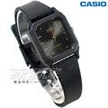CASIO卡西歐 LQ-142E-1A 復古簡約方錶 橡膠錶帶 黑色 LQ-142E-1ADF  防水手錶 指針錶 兒童 女錶