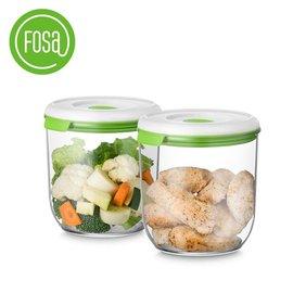 FOSA真空儲存罐(2罐 圓形) B21350(2入裝)