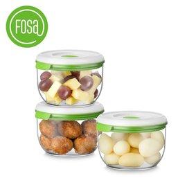 FOSA真空儲存罐(3罐 圓形) C30850(2入裝)