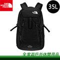 【新竹全家遊】㊣ The North Face 美國 35L 17吋電腦背包 黑色-TNF BLACK NF00CLH3JK3/雙肩背包 後背包 中型背包