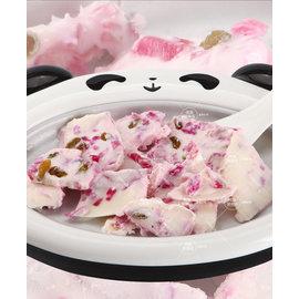 TwinS家用迷妳炒冰機 免插電DIY小型冰淇淋機水果冰沙炒冰盤~物理環保製冰 電氧處理更