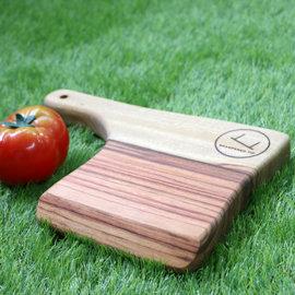 澳洲手工樟木 小方型樟木餐板 可當砧板 杯墊 食物托盤 露營野餐