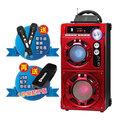 【ifive】手提式行動卡拉OK音響 (送雙好禮) 歌手級麥克風2支+藍牙接收器