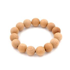 芬多森林|台灣檜木手珠12mm-15粒,檜木佛珠念珠可批發批貨,結緣商品,團購組合檜木球珠手環