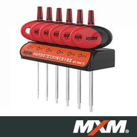 MXM優質手工具 》 M系列 》 迷你T型TORX梅花型扳手組套