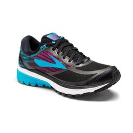 【Brooks 布魯斯】GHOST 10 GTX 防水透氣 女 專業慢跑鞋 / 藍紫黑 1202451B089 B-15