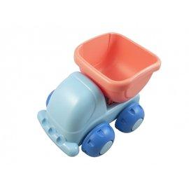 【紫貝殼】『MB17-5』日本 Toyroyal 樂雅 Flex系列 沙灘戲水玩具 - 沙灘車2160 (蜜桃紅)