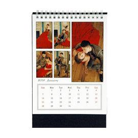 2018年最新雙面桌曆2本 *590元 *