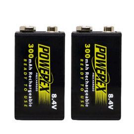 POWEREX 8.4V低自放鎳氫充電池MHR84VP(300) 2顆