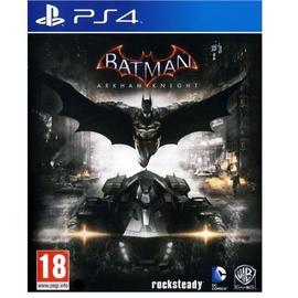 PS4 蝙蝠俠: 阿卡漢騎士(含小丑女與稻草人下載特典) -英文美版-BATMAN KNIGHT
