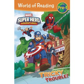 World of Reading Super Hero Adventures: Tricky Trouble! 超級英雄冒險系列:難對付的險境
