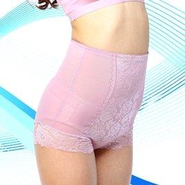 ~采悅~高腰收腹蕾絲收邊束褲 修飾褲 立體剪裁緊實加壓.收腹.提臀.窈窕 ~L~EQ~