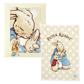 奇哥 親親比得兔幼兒毛毯 彌月 米色 附提袋