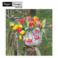 《Paper+Design》餐巾紙- Tulip Basket-鬱金香籃子