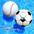 【WEKO】16吋運動造型沙灘球(WE-SP16)-足球