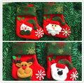 新款小號聖誕襪 聖誕襪 聖誕糖果襪 聖誕禮品袋─預購CH2477