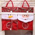 新款大號禮物袋 聖誕節老人雪人糖果袋 聖誕禮品袋─預購CH2519