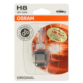 OSRAM 汽車原廠頭燈 H8 12V/35W 64212-01B 公司貨(2入)