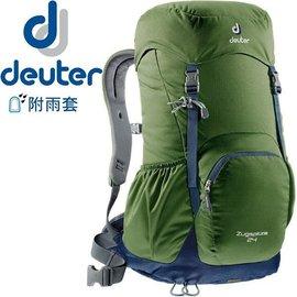 【登山屋】Deuter 3430116  Zugspitze 24L網架直立式透氣背包 輕量健行背包/ 自助旅行後背包