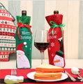 聖誕裝飾品 聖誕亮片酒袋 聖誕酒瓶袋 聖誕禮品袋─預購CH2531