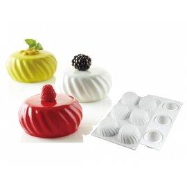 ◆全國食材◆義大利silikomart 36.210.87.0065 武士6連矽膠模