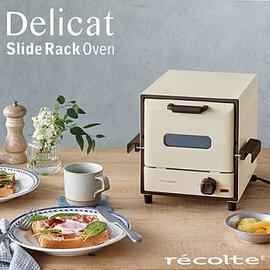 recolte 日本麗克特 Delicat 電烤箱簡約白RSR-1 W