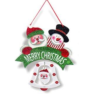 高級聖誕節吊片-單面紙卡 (聖誕老公公/聖誕雪人)