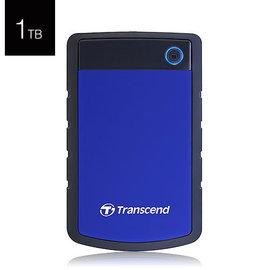 Transcend 創見 StoreJet 25H3B 1TB 2.5吋 USB3.0 行動硬碟 藍色