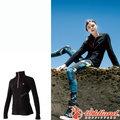 Wildland荒野 0A52501-54黑色 女彈性PILE保暖衣