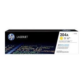 HP 204A LaserJet 原廠黃色碳粉匣CF512A 適用HP Laser Jet M154nw/M181fw