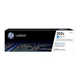 HP 202X LaserJet 原廠青色高容量碳粉匣CF501X For M254dw/M281fdw
