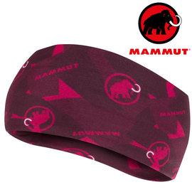 Mammut 長毛象 透氣排汗頭巾 登山 單車 頭巾 1090~05810 6240 梅洛酒紅 洋紅