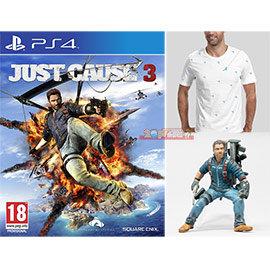 PS4 正當防衛3 特仕限定版(含T恤+人形) -英文版- Just Cause 3