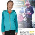 【英國 REGATTA】兒童新款 Upflow 亞佛 超輕量170刷毛保暖連帽外套.運動夾克/可當中層衣.透氣快乾.不易起毛球 非odlo/RKA185 琺瑯藍