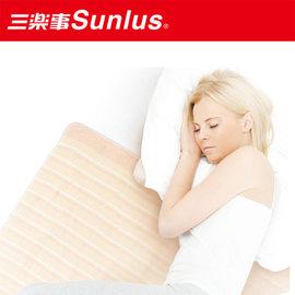暖冬促銷【Sunlus三樂事】輕薄單人電熱毯