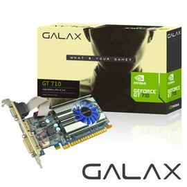 GALAX GT710 1GB顯示卡  立即升級獨顯平台 700系列最
